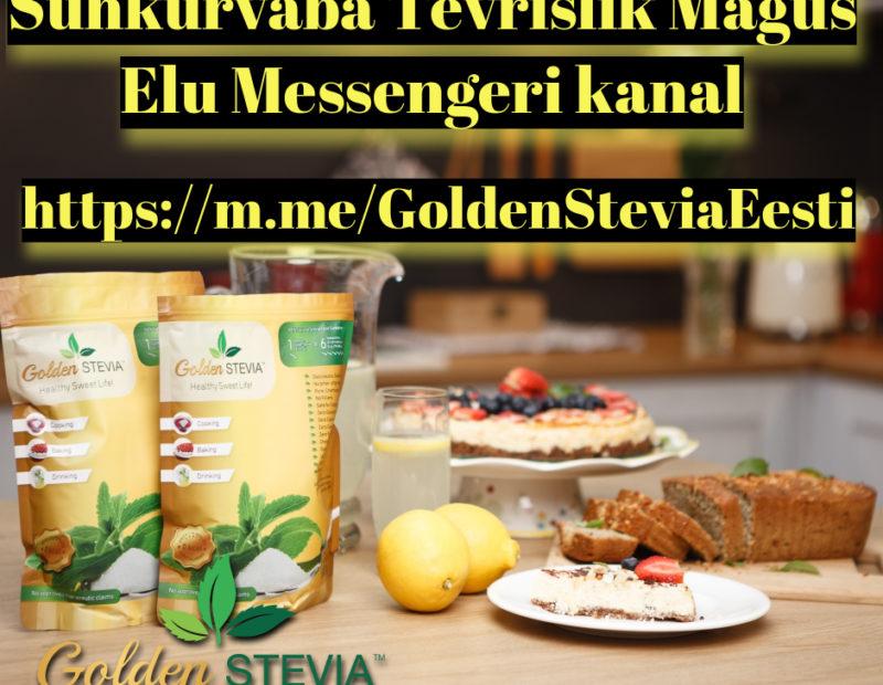MIS TEGELIKULT JUHTUS GOLDEN STEVIA TOOTEGA?