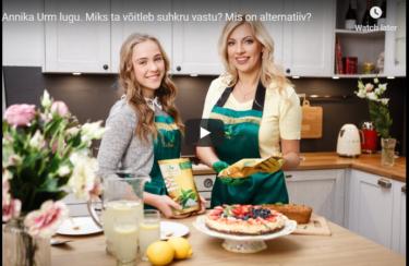 Annika Urm lugu. Miks ta võitleb suhkru vastu? Mis on alternatiiv? Kui lapsel on diabeet, kuidas edasi? Diabeet ja toidulaud