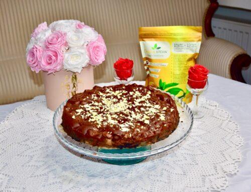 Mõnus šokolaadi-pirnikook Golden Steviaga