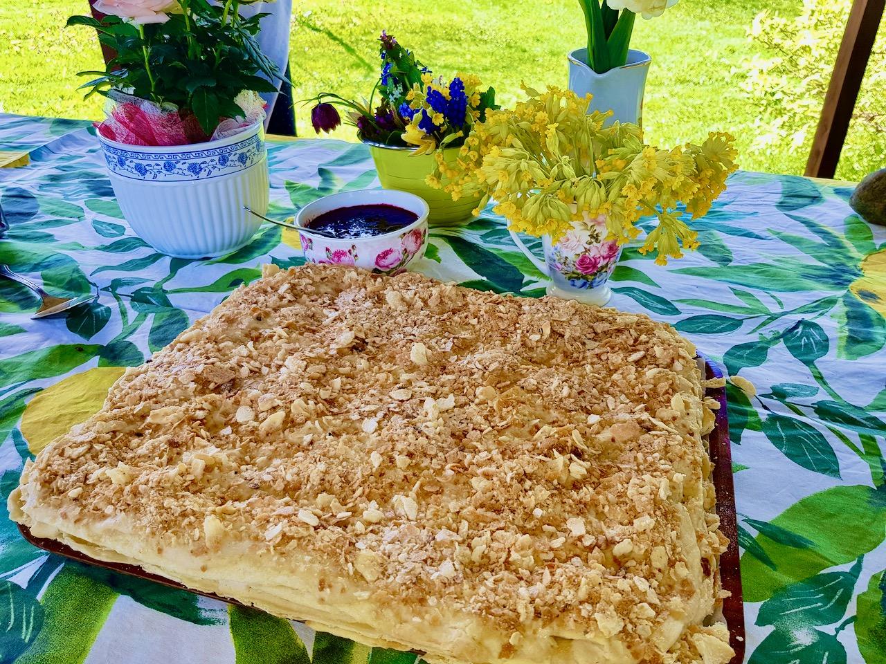 Suhkruvaba napoleoni kook