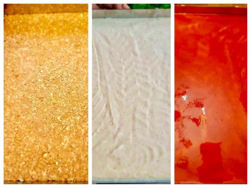 Suhkruvaba Toorjuustu kamakook Golden Steviaga