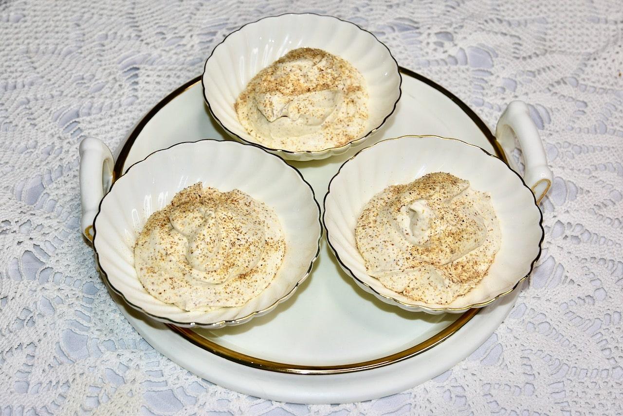 Kamavaht vahukoore Philadelphia toorjuust suhkruvaba Golden Steviaga ja kõrvitsa ebaküdoonia moosiga