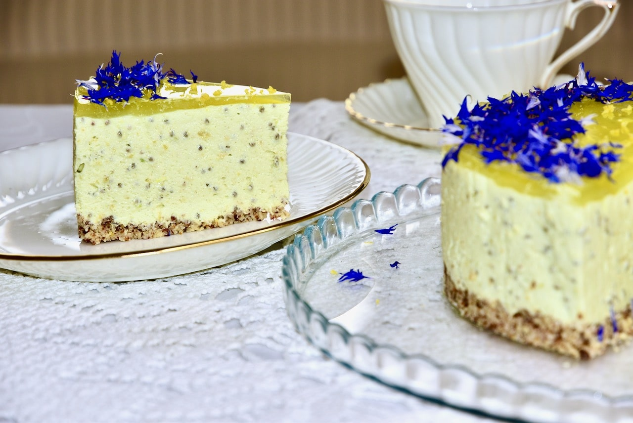 Avokaado toorjuustu sidruni keto tort Golden Stevia suhkruasendajaga