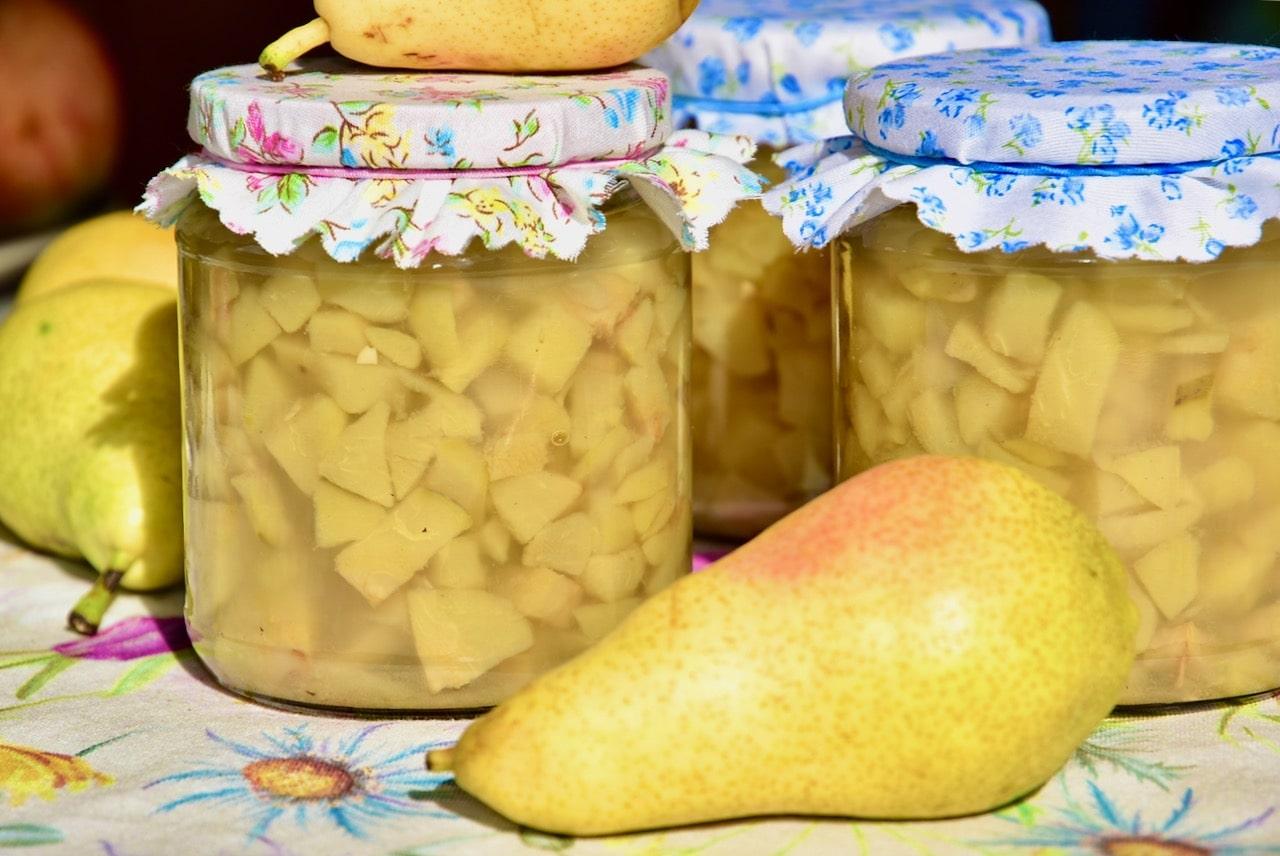 Pirnimoos Golden Stevia suhkruasendajaga sugar free jam