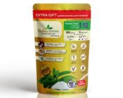 Golden Stevia lauamagusaine asendab suhkrut 1:10 kõige soodsam suhkruasendaja