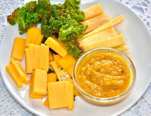 Kõrvitsa-tšillimoos juustu kõrvale Golden Stevia magusainega