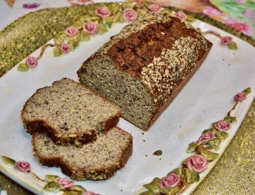 Linaseemne leiva retsept Golden Stevia Keto, Low Carb, Gluteenivaba