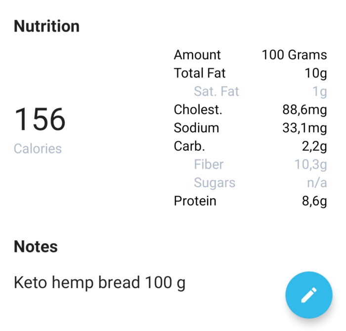 Golden Stevia Kanepi leib low carb hemp bread keto bread