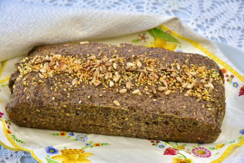 Golden Stevia Kanepiseemne leib gluteenvaba suhkruvaba-min
