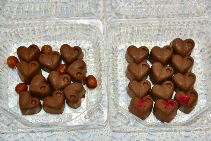 Golden Stevia kookose shokolaadi kommid suhkruvabad
