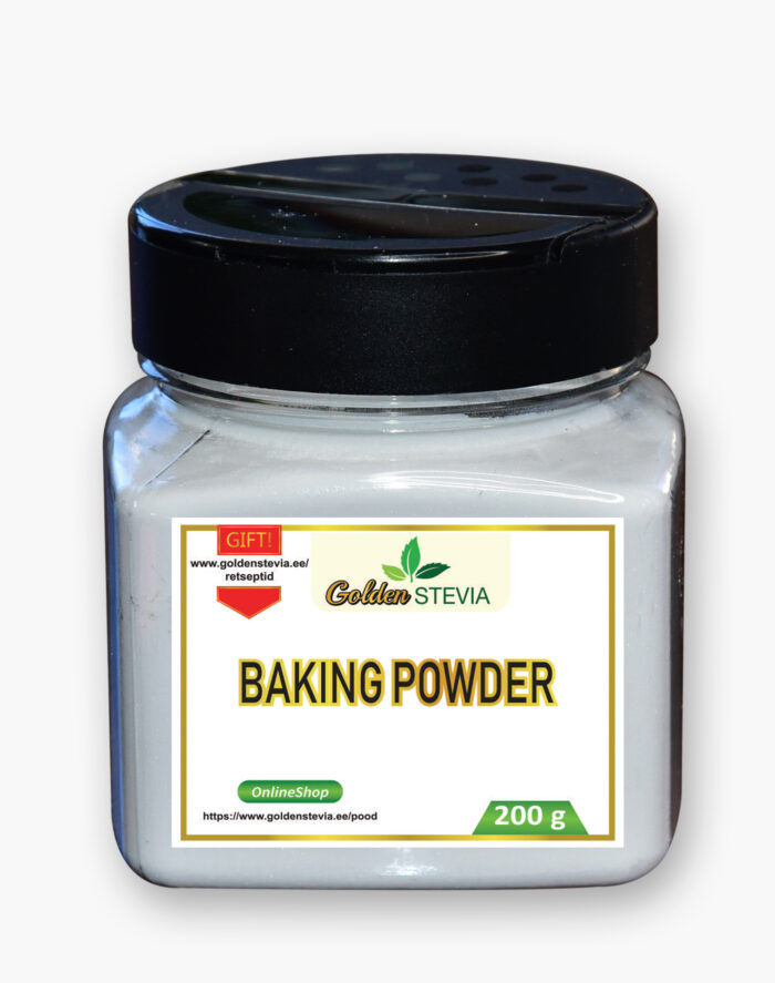 Küpsetuspulber baking powder golden stevia