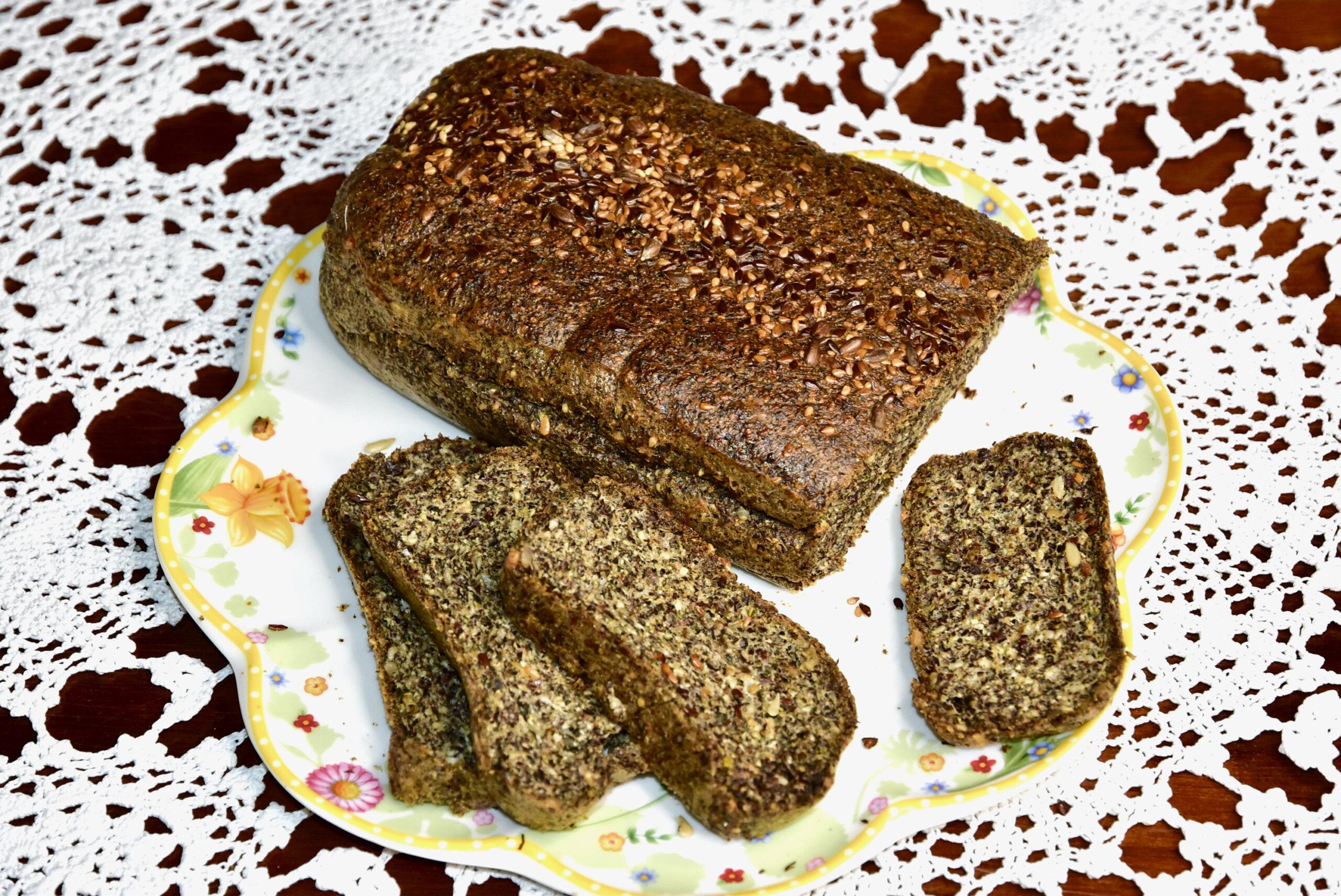 Kuidas valmistada Linaseemne kanepi leiba gluteenivaba low carb keto suhkruvaba