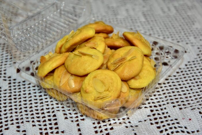 Mandliküpsised Keto Golden stevia low carb sugar free gluten free