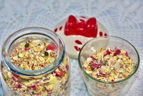 Shokolaadi Pähkli Maasika kookose Suhkruvaba Müsli Golden Stevia