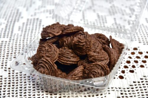 Toorkakao shokolaadi mandli low carb, keto suhkruvaba, gluteenivaba küpsis