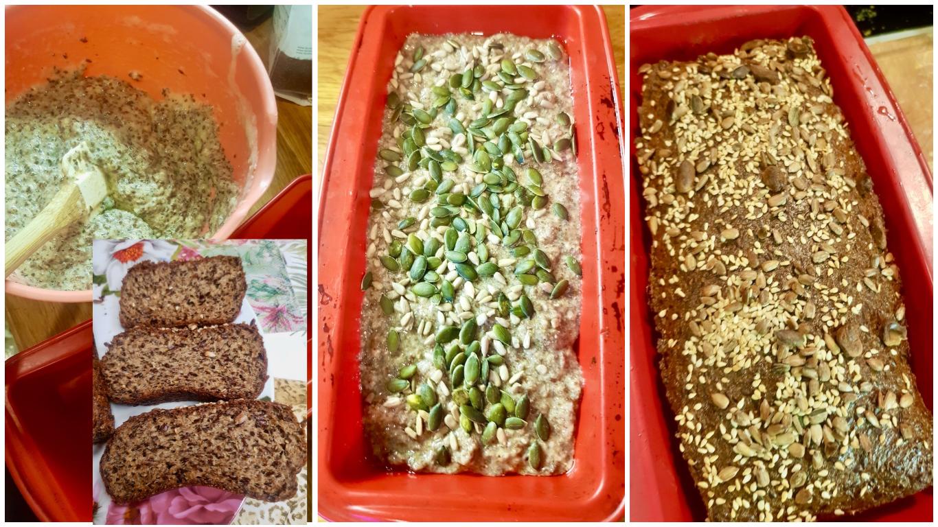flax seed kefir bread golden stevia keto diabetic friendly