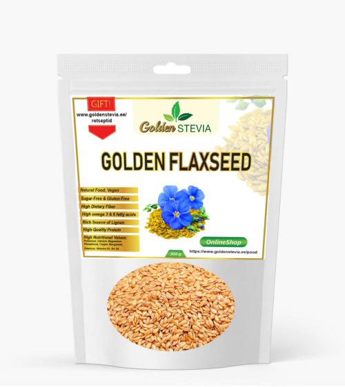 Kuldsed linaseemned Golden Flaxseed LCHF keto