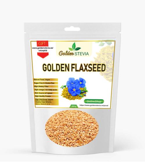 Kuldsed linaseemned Golden Flaxseed LCHF keto