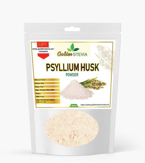 psüllium husk india teelehe pulber fiber kiudaine