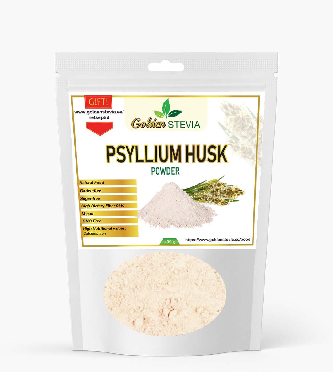 Psyllium husk powder psüllium husk india teelehe pulber fiber kiudaine