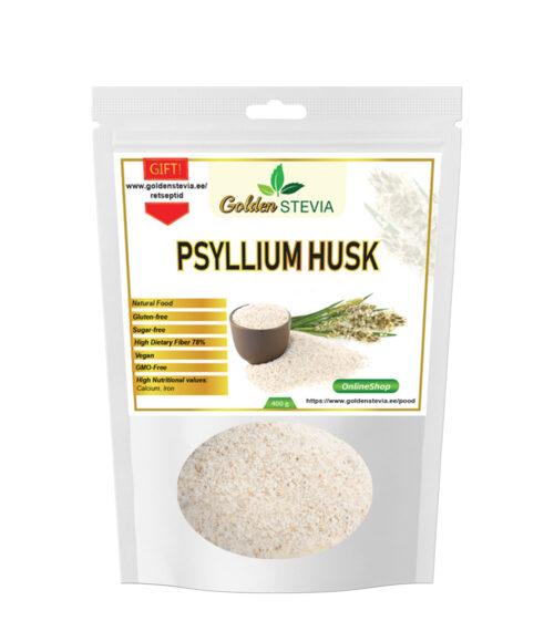 Psüllium Psyllium Husk kiudaine India teeleht