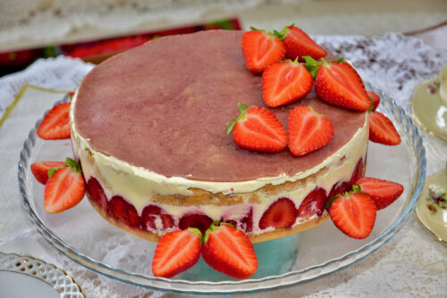 Maasika Fraisieri tort