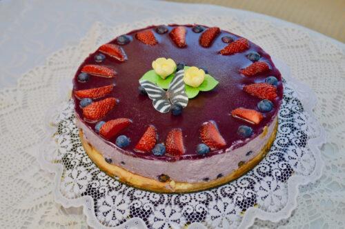 olden Stevia Mustika Mousse suhkruvaba tort
