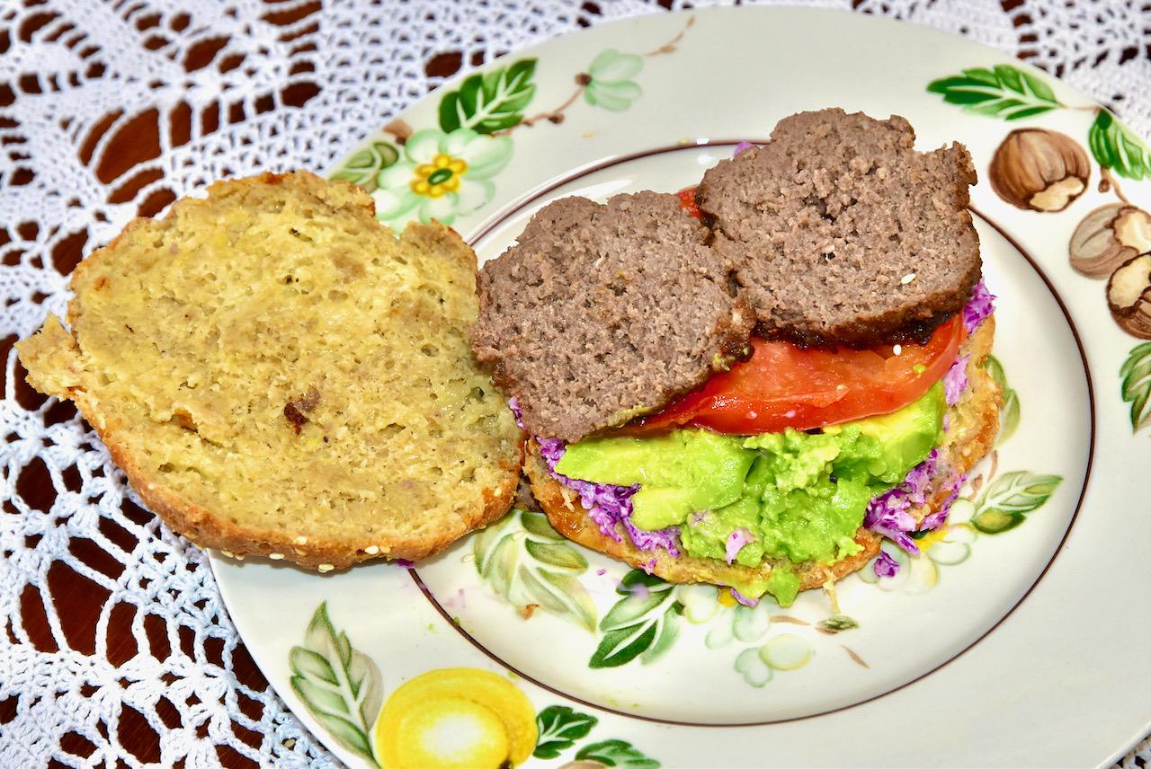 Gluteenivaba Low Carb Keto Burgeri sai - Fathead Burger Buns