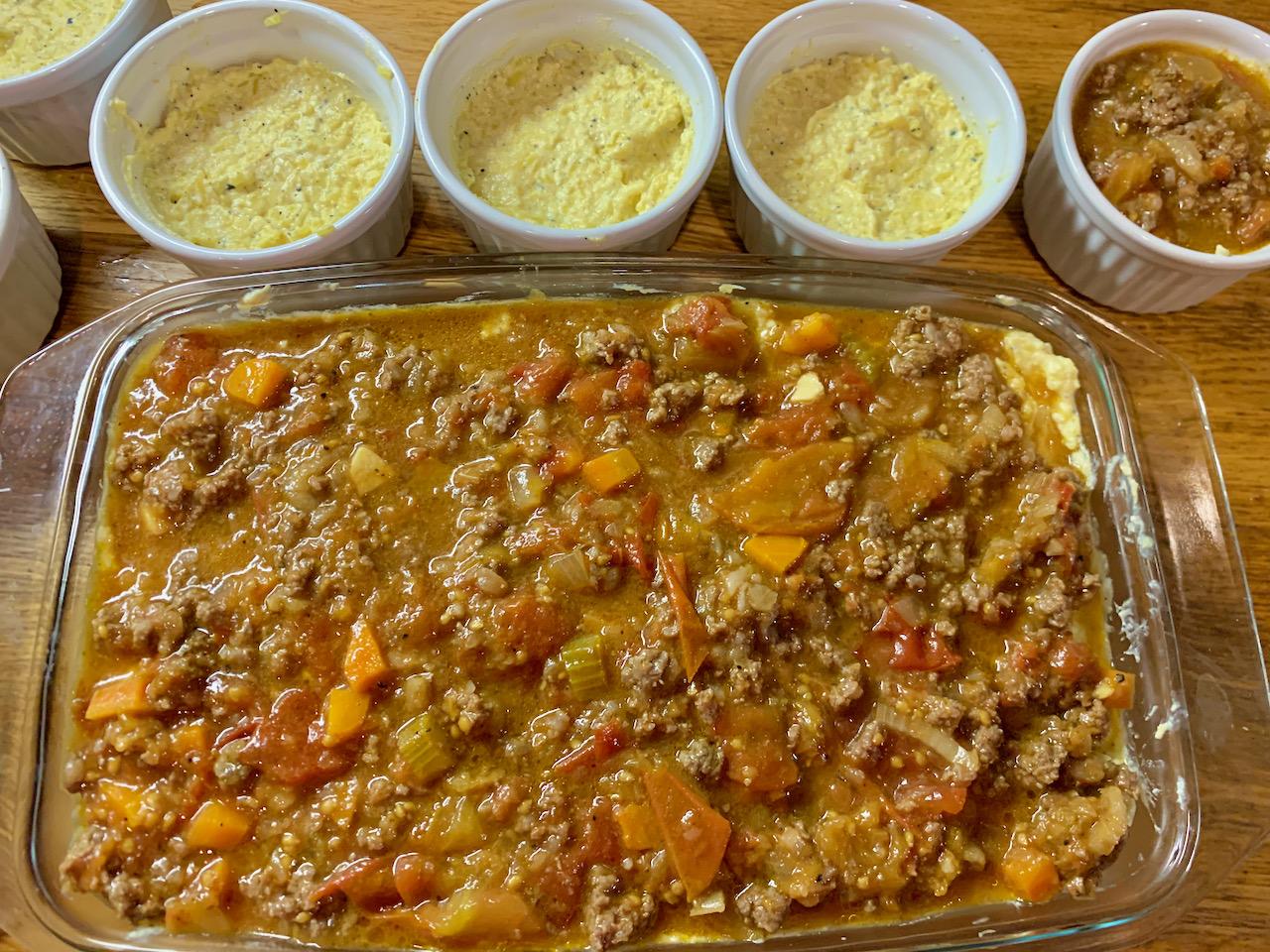 spaghetti squash Spagetikõrvits gluteenivaba suhkruvaba low carb pasta bolognesse trühvli musta torbikseene lasagne