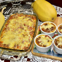 spaghetti squash Spagetikõrvits gluteenivaba suhkruvaba low carb pasta bolognesse trüfli musta torbikseene lasagne