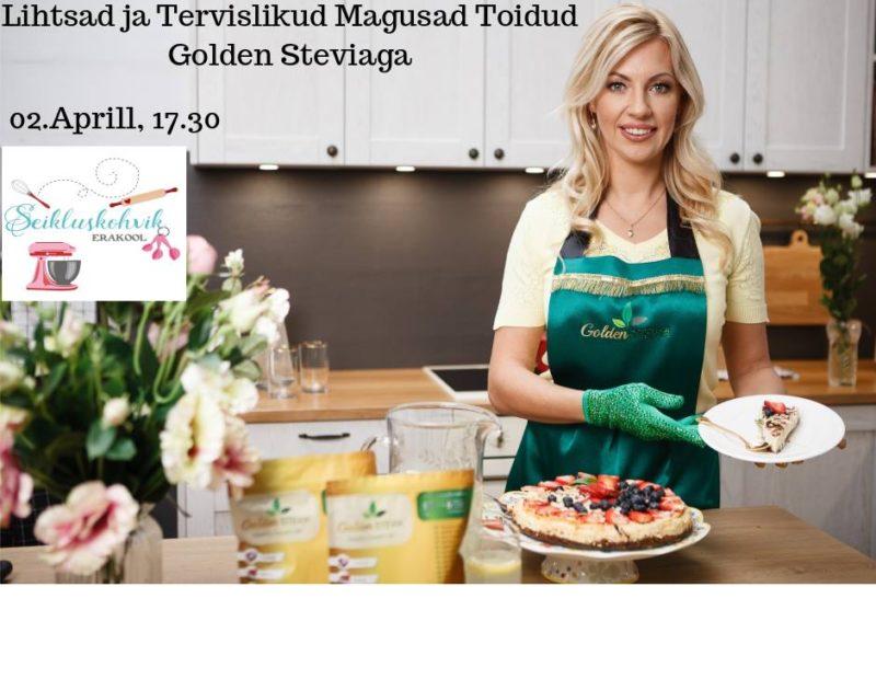 Golden Stevia koolitused Aprillis Tallinnas igal Teisipäeval Seiklsukohvikus 2019